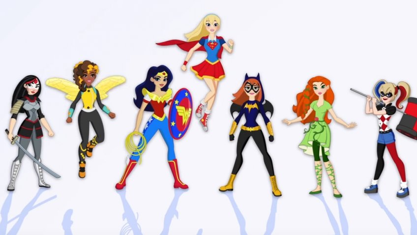 DC Super Hero Girls | #WBGesponsert #Werbung